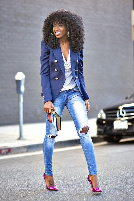 Блейзер или пиджак