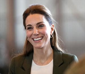 От герцогни Кэтрин в элегантном casual look не оторвать взгляд