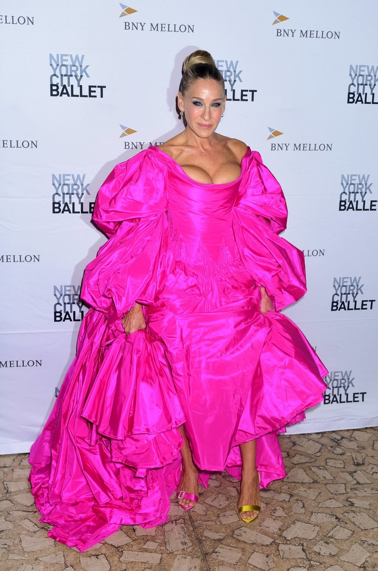 Сара Джессика Паркер наNew York City Ballet Fall Fashion Gala 2019 год