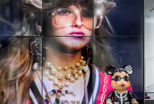 Linda Farrow открывают Pop-Up Store вAizel