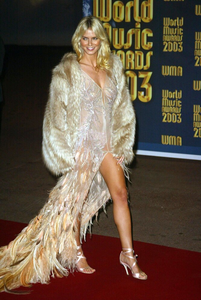 Хайди Клум, 2003, World Music Awards