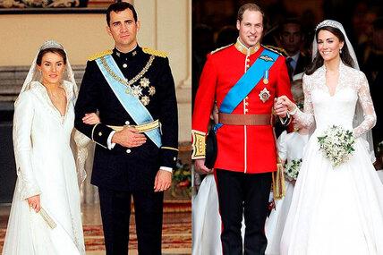 Самые красивые подвенечные наряды принцесс, которые навсегда вошли висторию моды