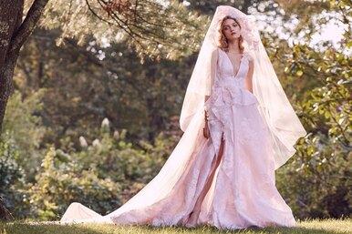 Прекрасная невеста: 16 классических свадебных платьев Marchesa