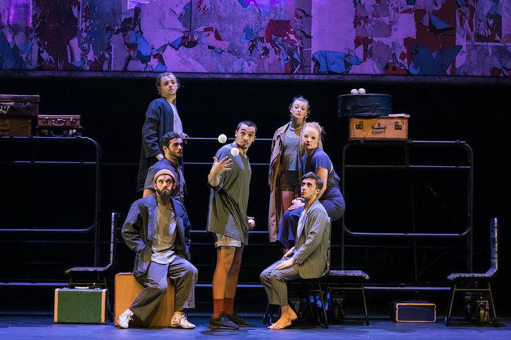 В Москве состоялась мировая премьера спектакля театра-цирка «7 пальцев»