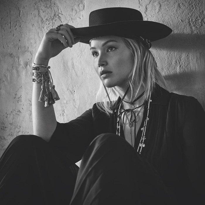 Дженнифер Лоуренс врекламной кампании Dior