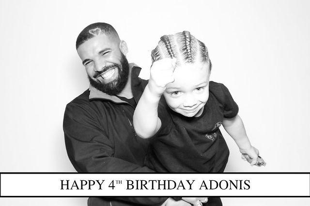 Дрейк с сыном
