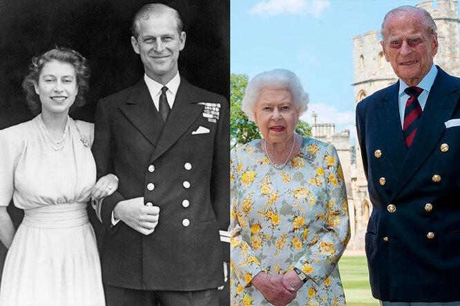 Королева Елизавета II и Филипп, герцог Эдинбургский