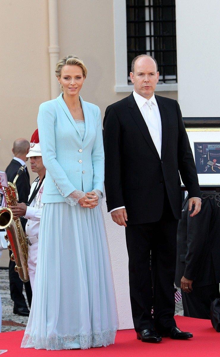 Княгиня Монако Шарлин 2011 год