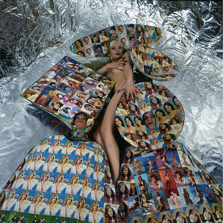 Рената Литвинова, модель Андрея Бартенева, 1996, фото Тимур гриб