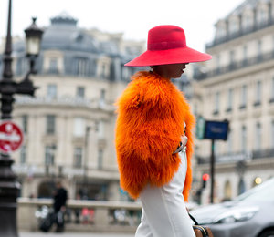 Неделя моды в Париже осень-зима 2015/2016: street style