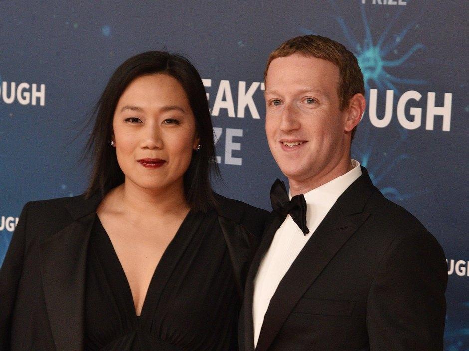 Марк Цукерберг иПрисцилла Чан