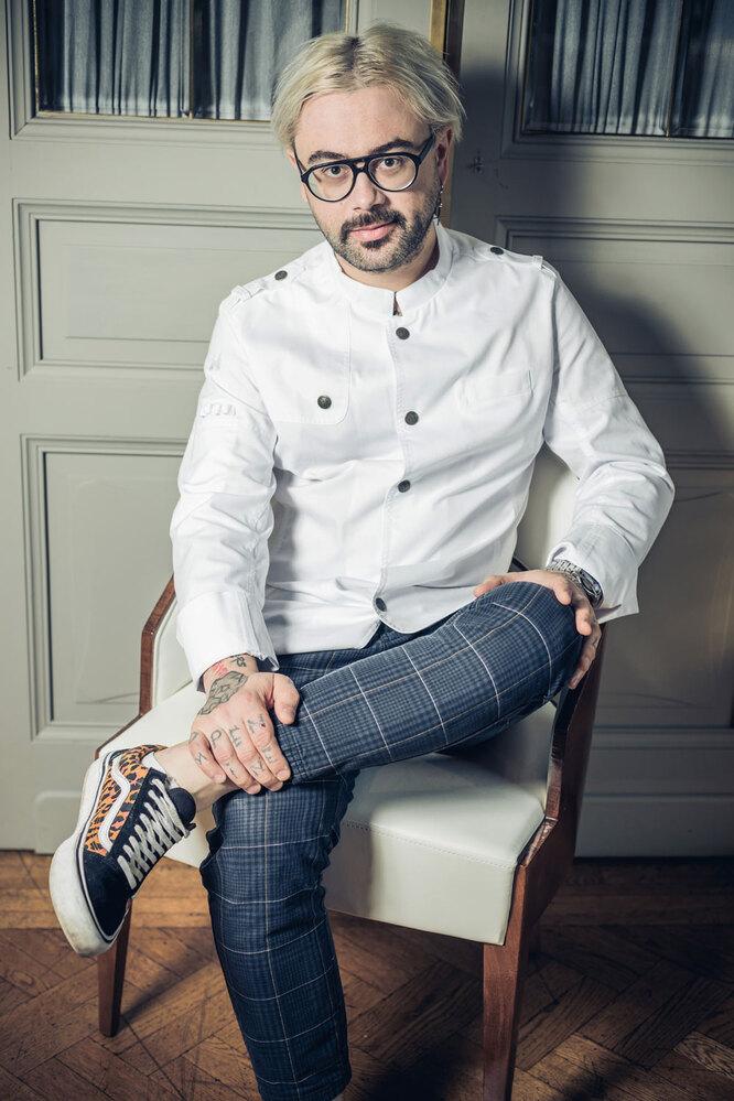 Шеф-повар Евгений Викентьев