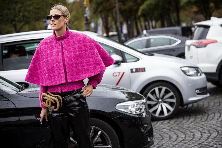 Зимняя фуксия: внедряем яркий розовый вповседневный гардероб