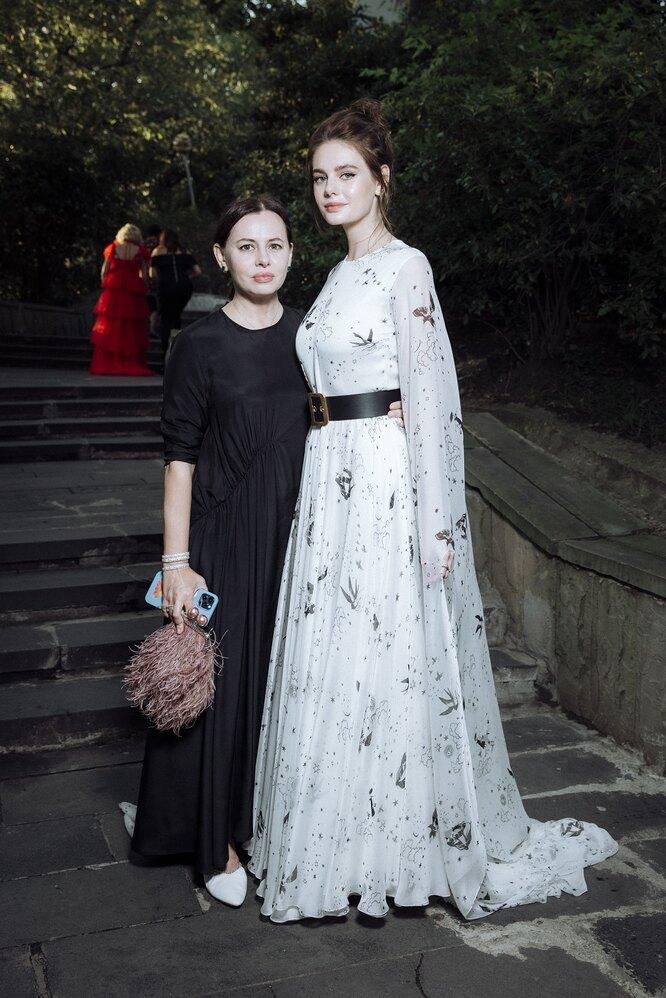 Оксана Лаврентьева с дочерью