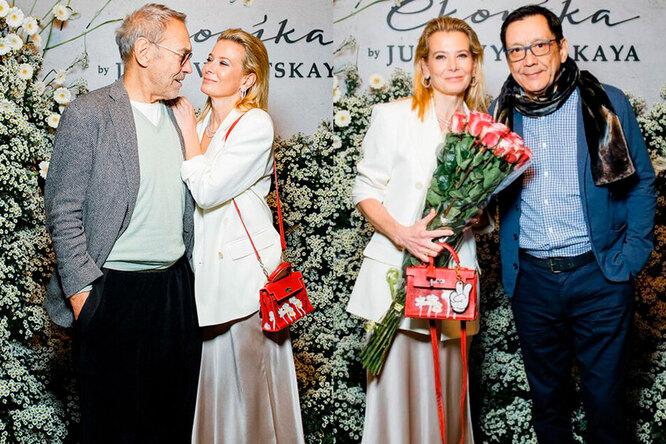 Андрей Кончаловский и Юлия Высоцкая, Юлия Высоцкая и Егор Кончаловский