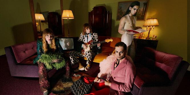 Группа Maneskin в кампейне Gucci