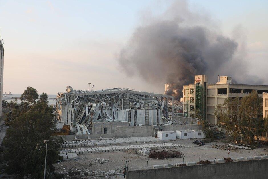 Взрыв вБейруте