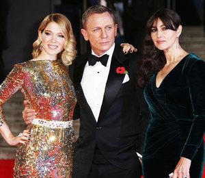 «Спектр 007»: Моника Беллуччи и Дэниэл Крэйг на мировой премьере в Лондоне