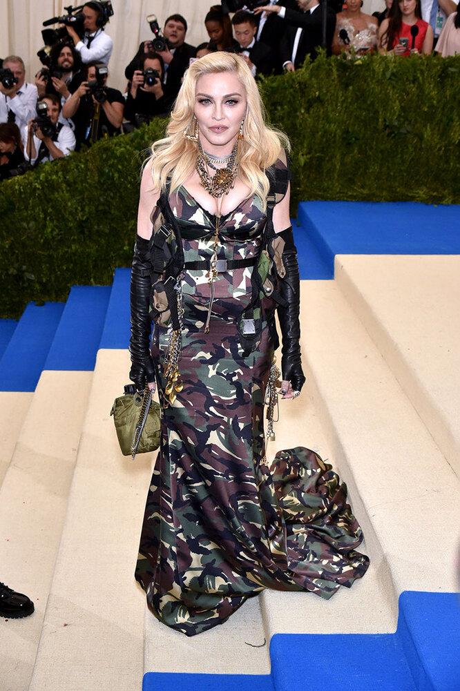 Мадонна в 2017 году