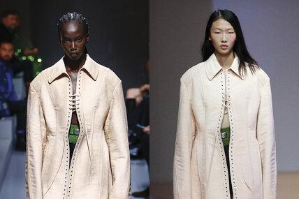 Дайте два! Prada провели параллельные показы вМилане иШанхае