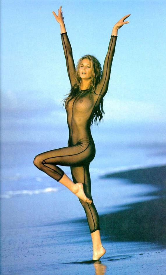 фото знаменитых моделей Эль Макферсон