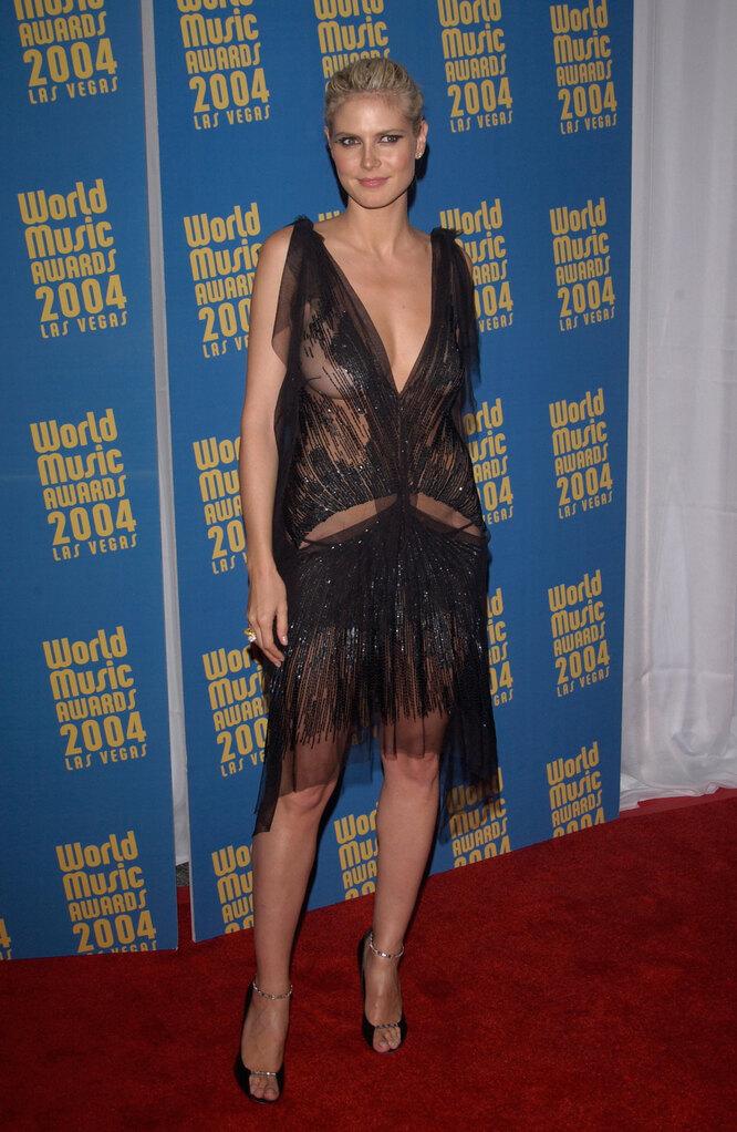 Хайди Клум, 2004, World Music Awards