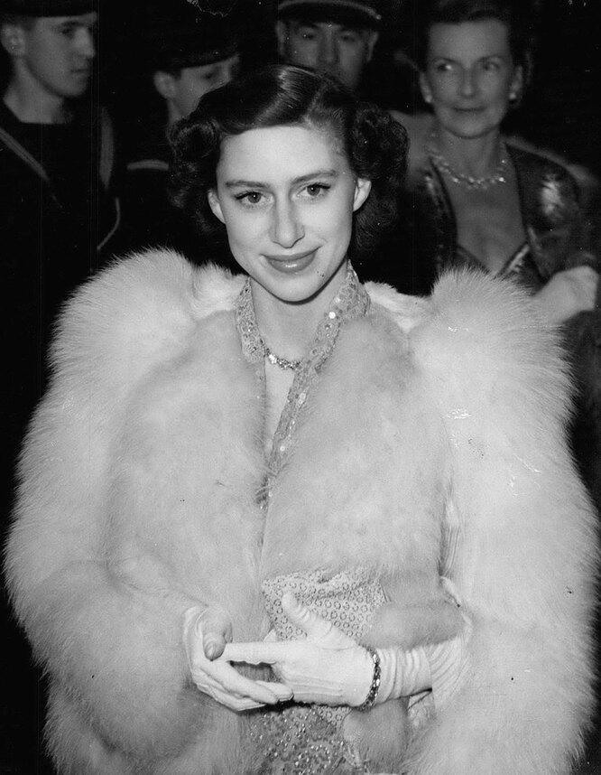 Принцесса Маргарет в 1951 году