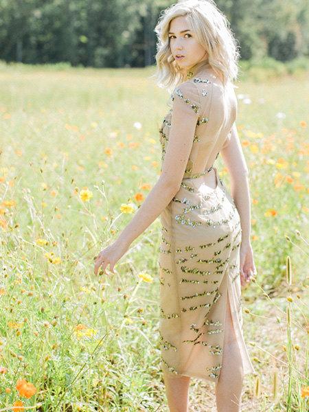 Платья Haley Paige (впрочем, более марка известна свадебной линейкой)