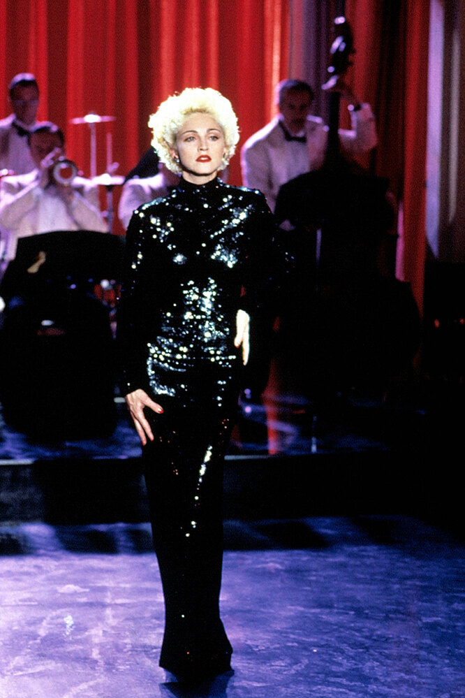 Мадонна в 1990 году