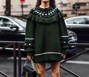 Женственные и теплые: модные платья на осень и зиму 2019/20