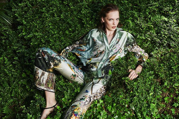 В шелках итуманах: выбираем пижаму длясладких сновидений
