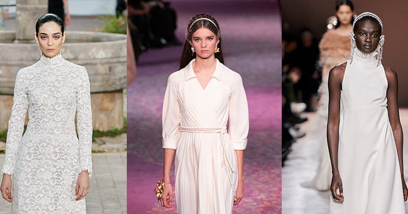 17 самых красивых свадебных платьев скутюрной Недели моды вПариже