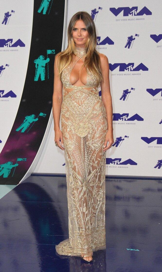 Хайди Клум, 2017, MTV Video Music Awards