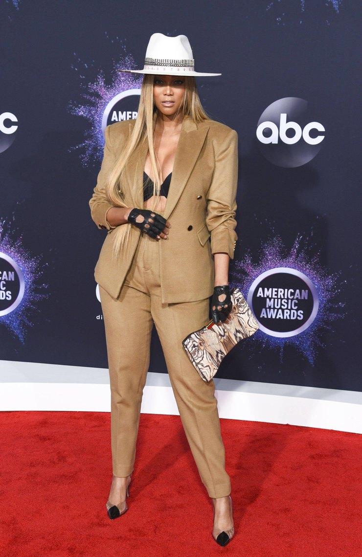 Тайра Бэнкс наAmerican Music Awards