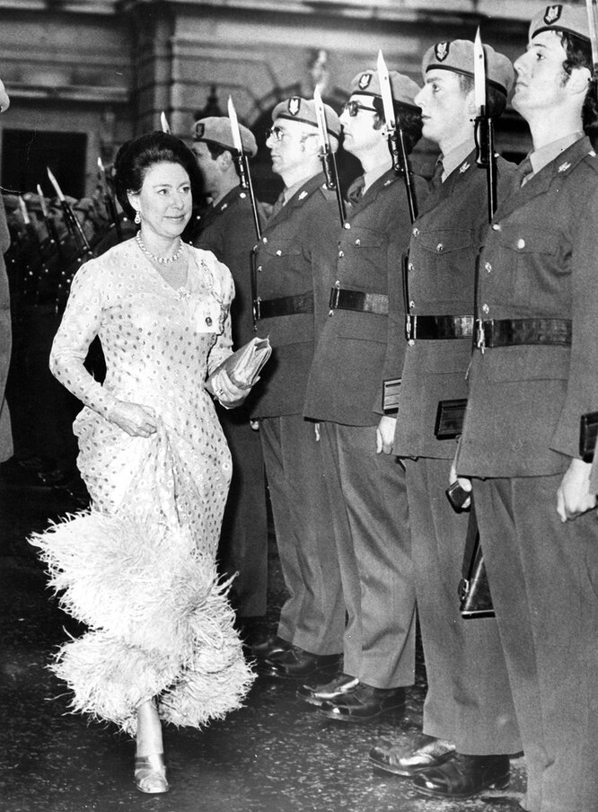 Принцесса Маргарет в 1975 году