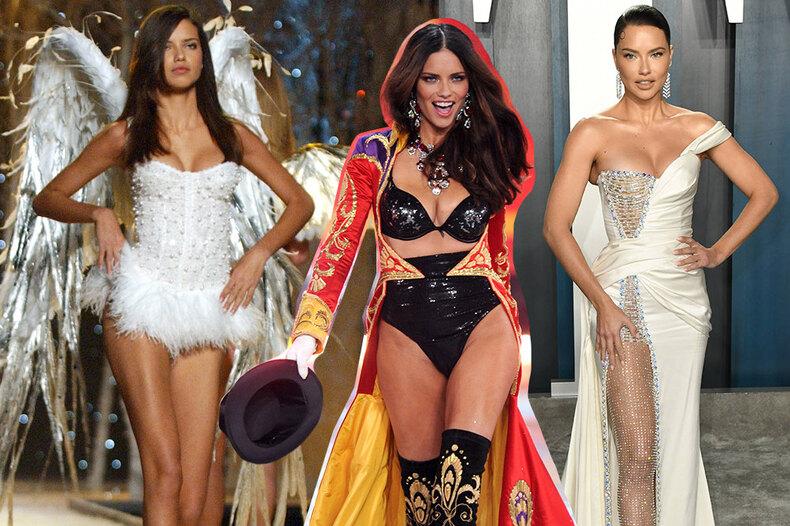 Адриане Лиме — 40 лет! Как изменилась звезда Victoria's Secret сначала карьеры