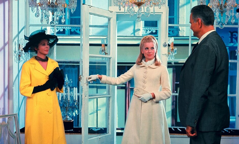 «Шербурские зонтики» (1964), реж. Жак Деми