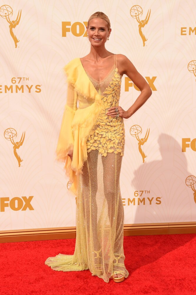 Хайди Клум, 2015, Emmy Awards