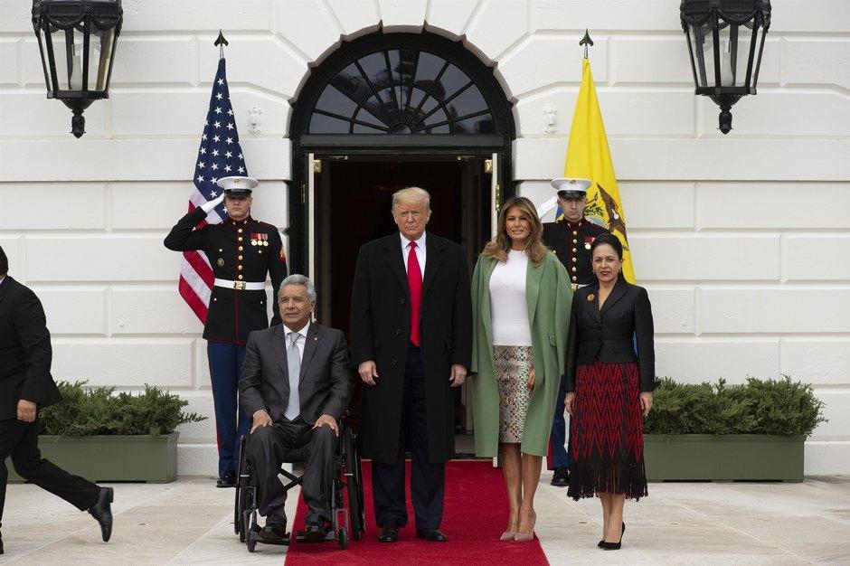 Мелания иДональд Трамп