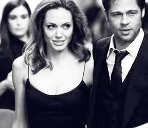 Анджелина Джоли пишет любовные письма Питту