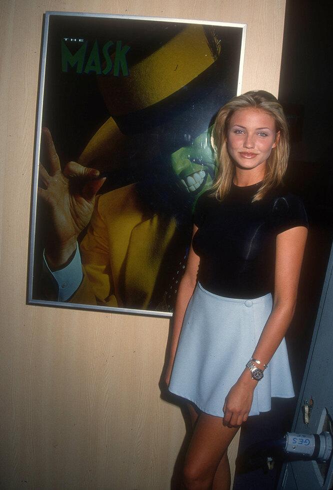 Кэмерон Диаз в 1994 году в Лас-Вегасе