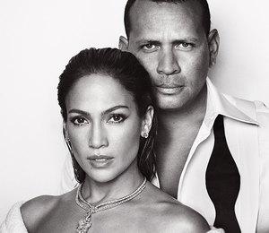 Дженнифер Лопес и Алекс Родригес снялись вместе для обложки журнала