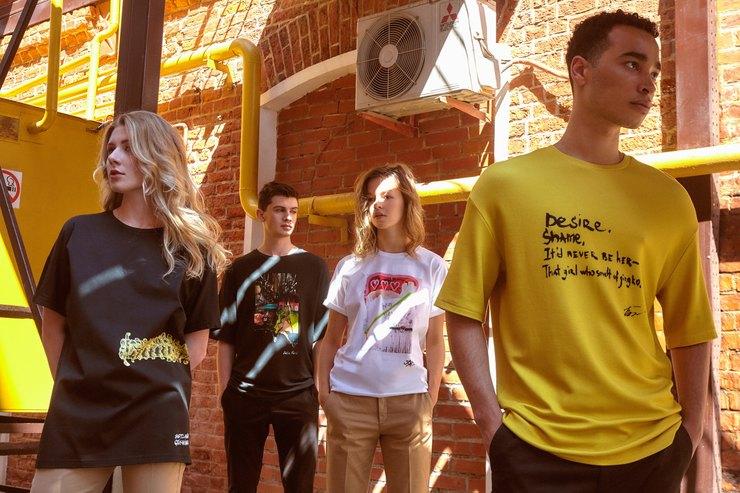 Тюльпаны, философия инемного несчастной любви: футболки Chapurin Art Edition