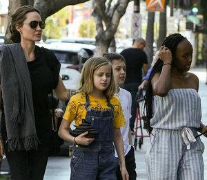 Анджелину Джоли обвинили в экономии на детях