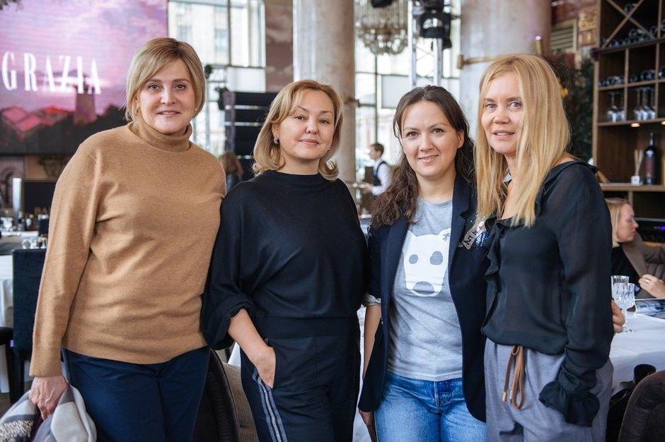 Елена Заграничная, Наталья Веснина, Диля Шакурова, Ольга Ветрова