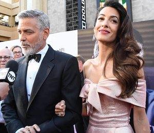 Cплетникам назло: Джордж и Амаль Клуни поужинали в Голливуде