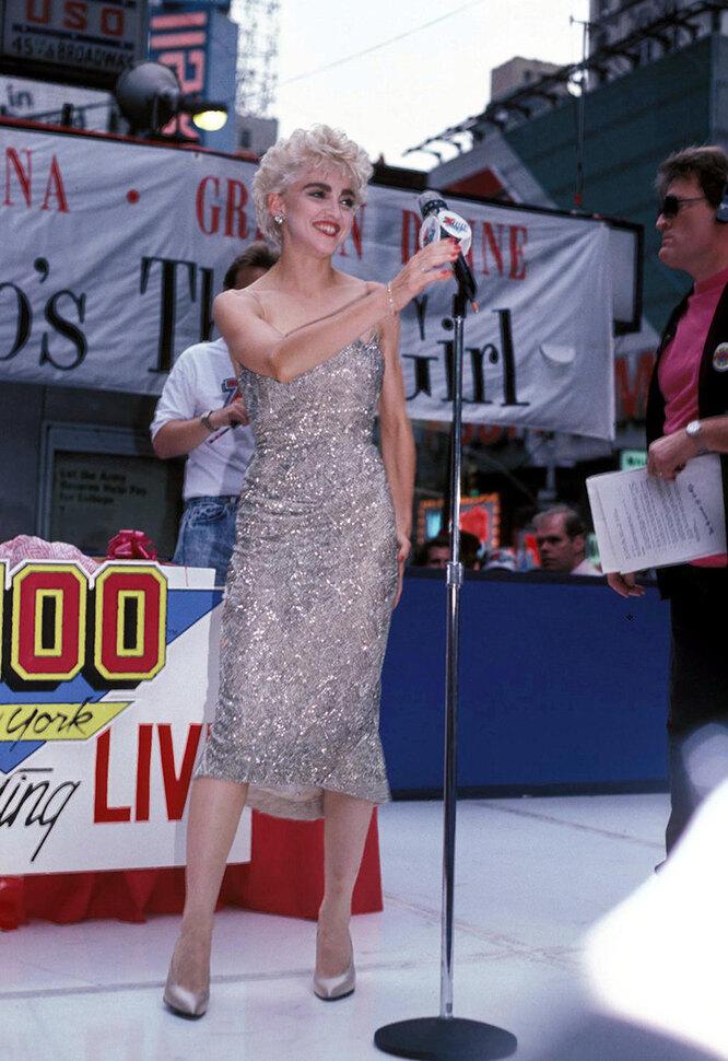 Мадонна в 1987 году
