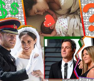 17 свадеб, 12 разводов: чем еще нам запомнится 2018 год?