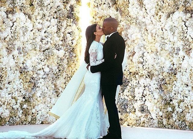 Фото со свадьбы Ким иКанье