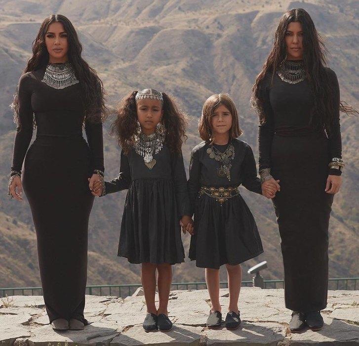 Ким Кардашьян всегда помнит свою историческую родину